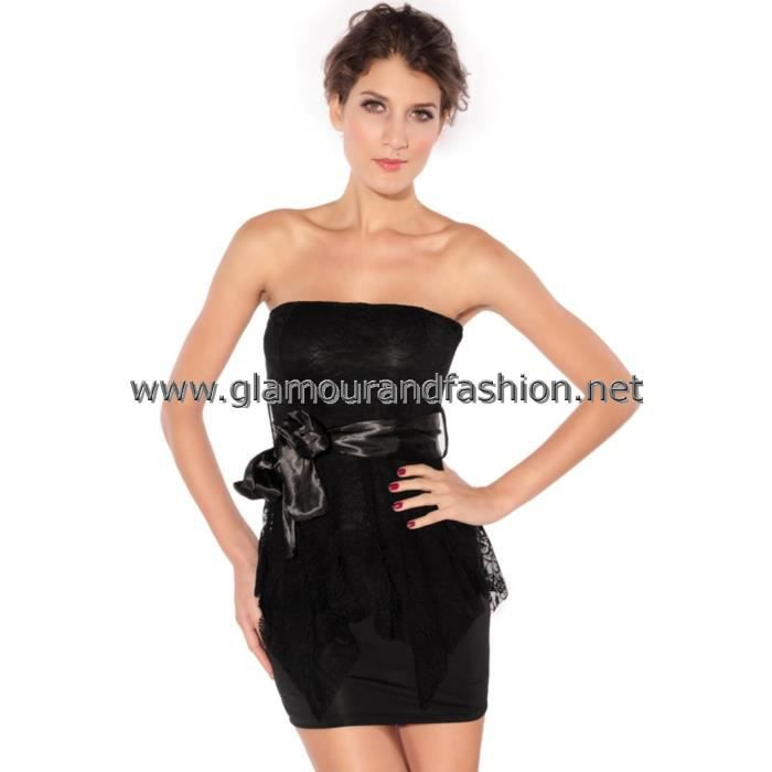 Robes courtes bustier soiree