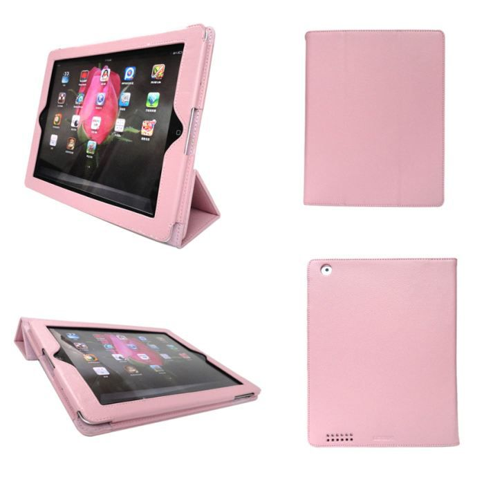 housse ipad 2 3 et ipad 4 retina rose pliable prix pas cher cdiscount. Black Bedroom Furniture Sets. Home Design Ideas