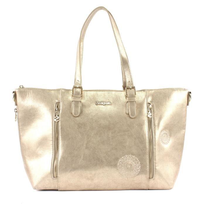 Desigual Brilli Verona Shoulder Bag Amber Gold