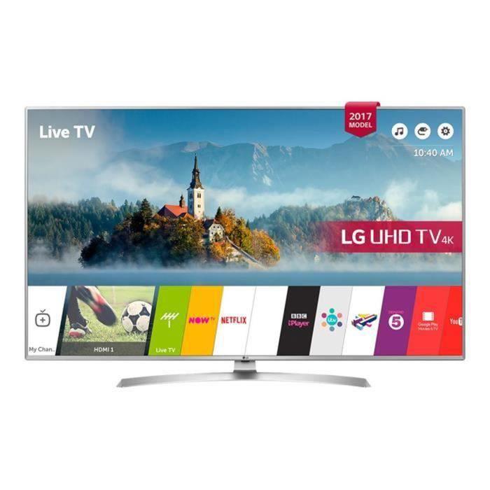 """Téléviseur LED LG 49UJ701V - Classe 49"""" TV LED - Smart TV - 4K UH"""
