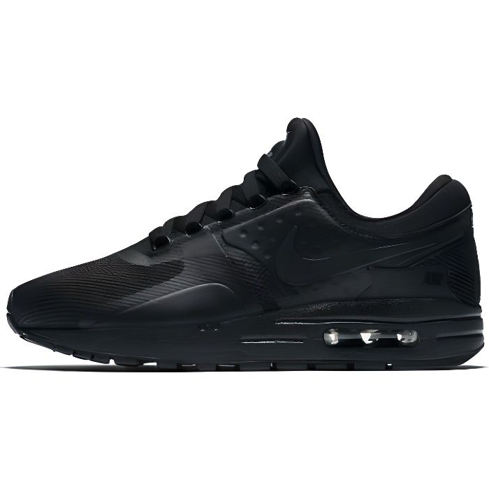 21b268c5186e Basket NIKE AIR MAX ZERO ESSENTIAL GS - Age - ADOLESCENT, Couleur - NOIR,  Genre - Mixte, Taille - 38