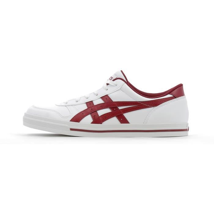 Baskets basses Asics Aaron Blanc - Cdiscount Chaussures
