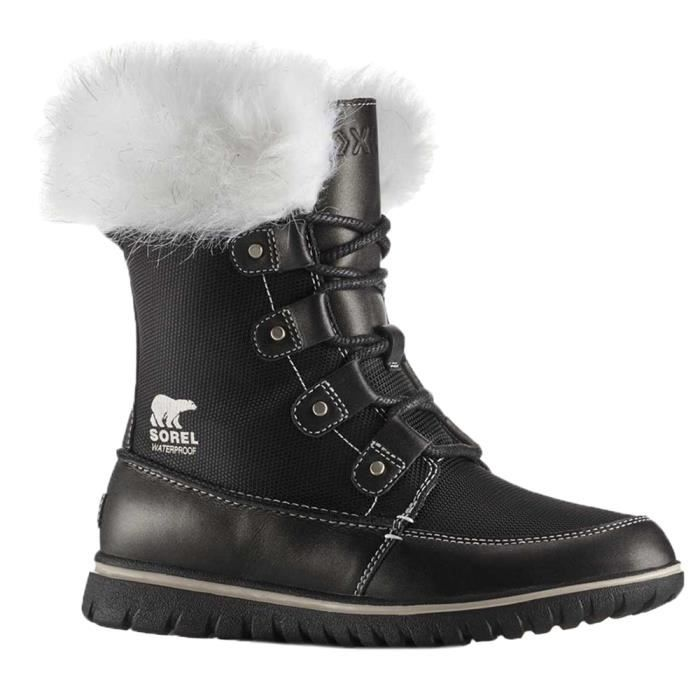 0815a64cd8d SOREL Cozy Joan X Celebration Apres Ski Femme - Taille 40.5 - NOIR ...