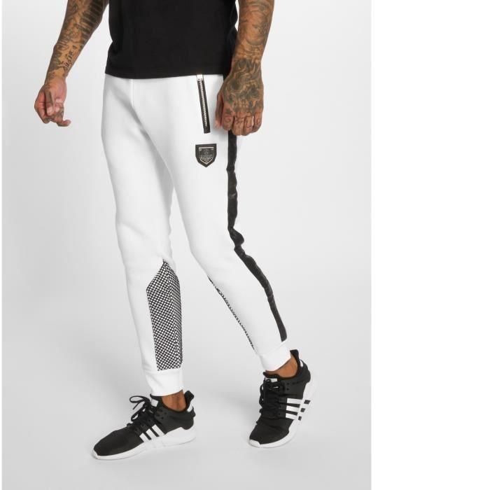 Horspist Homme Pantalons & Shorts Jogging Python Blanc
