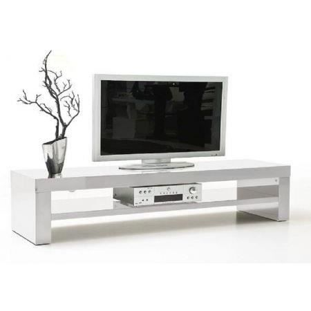 meuble tv blanc laqu lina 160 cm achat vente meuble tv meuble tv blanc laqu lina cdiscount. Black Bedroom Furniture Sets. Home Design Ideas