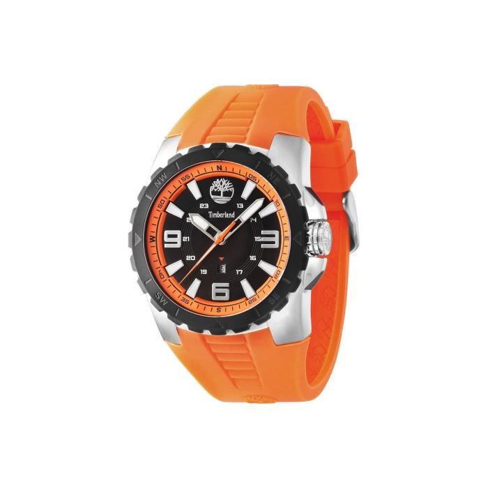 montre timberland orange