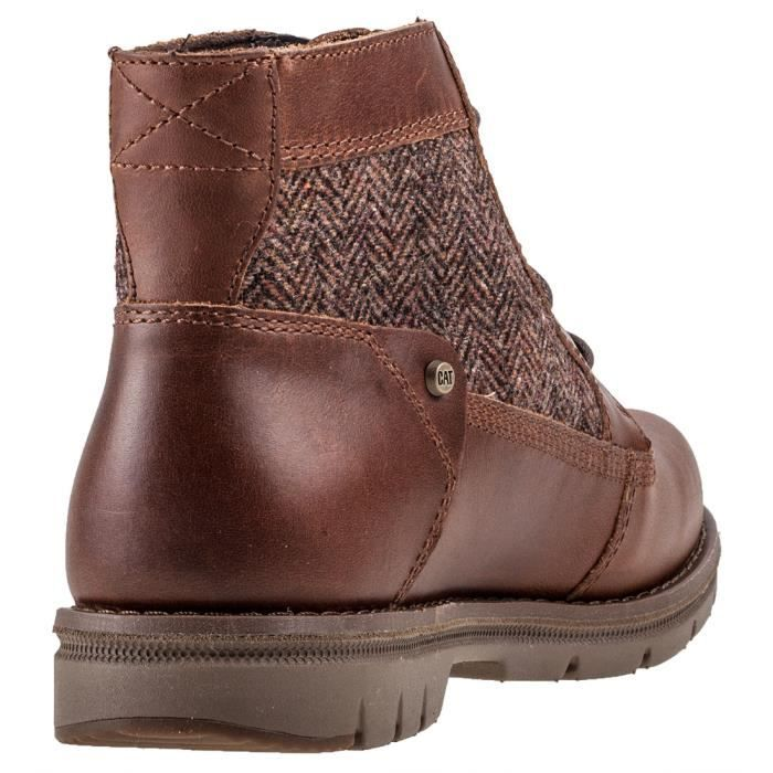 Caterpillar Hazel Wool Sugar Femmes Bottes marron - 7 UK