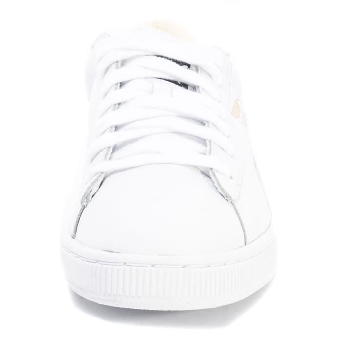 White10 Puma Hommes Uk Classic Baskets Basket SUpMVz