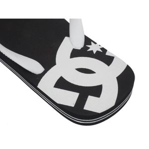 TONG Tongs claquettes Tongue spray noir Dc shoes. ‹›