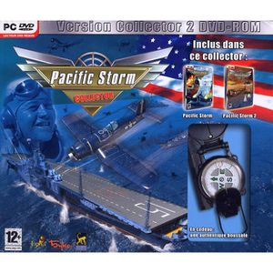 JEU PC PACIFIC STORM 1 + 2 COLLECTOR / JEUX PC DVD-ROM