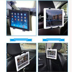 13 Pouces Appui-t/ête r/églable /à 360 degr/és Support t/élescopique Tablette Audio TV avec 5 Pouces Support de si/ège arri/ère Support pour Tablette Support pour Smartphone