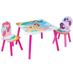 TABLE ET CHAISE MON PETIT PONEY Ensemble Table Et 2 Chaises Pour E