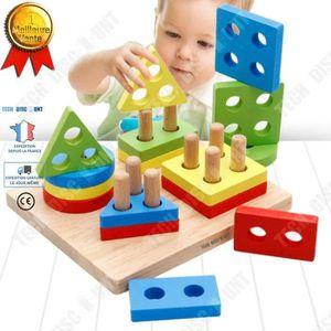 PUZZLE TD® jouets formes a trier puzzle en bois enfant 3