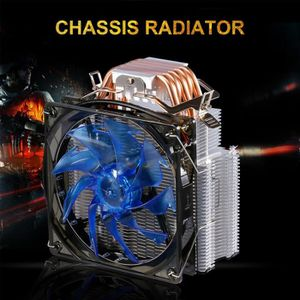 VENTILATION  LESHP CPU Cooler Ultra silencieux avec ventilateur