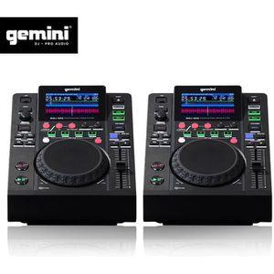 PLATINE DJ Double Platines Lecteurs LCD Gemini MDJ-500 profes