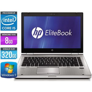 ORDINATEUR PORTABLE Ordinateurs portables HP EliteBook 8470P - Core i5