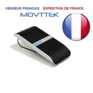 KIT BLUETOOTH TÉLÉPHONE Kit main libre solaire Movttek® luxe fonction voca