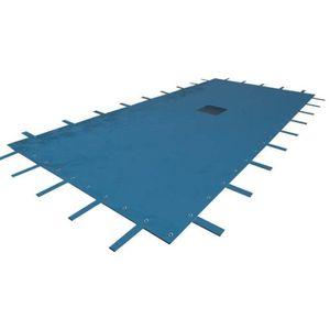 BÂCHE - COUVERTURE  Bâche piscine rectangulaire 5 m x 8 m