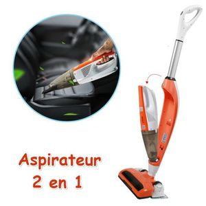 ASPIRATEUR BALAI 2 en 1 Aspirateur Balai Nettoyeur Clean Sans Déter