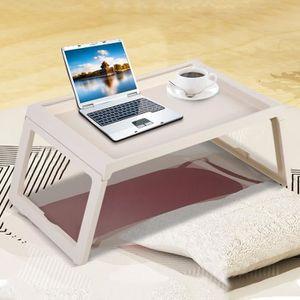 MEUBLE INFORMATIQUE Table De Lit Pliable Plateau De Service pour ordin