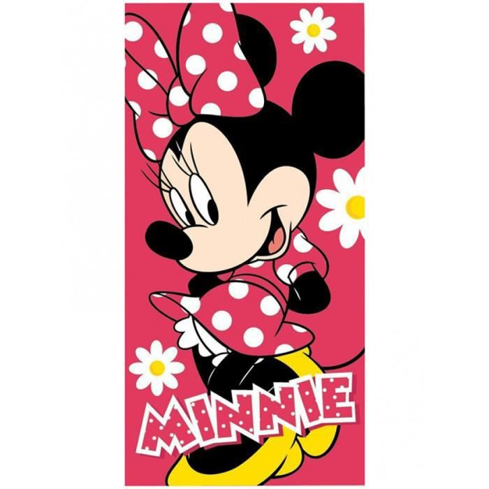 Serviette de plage Minnie Mouse