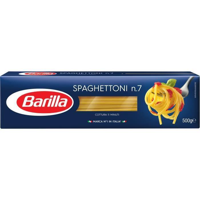 Pâtes spaghettoni n°7 500 g Barilla