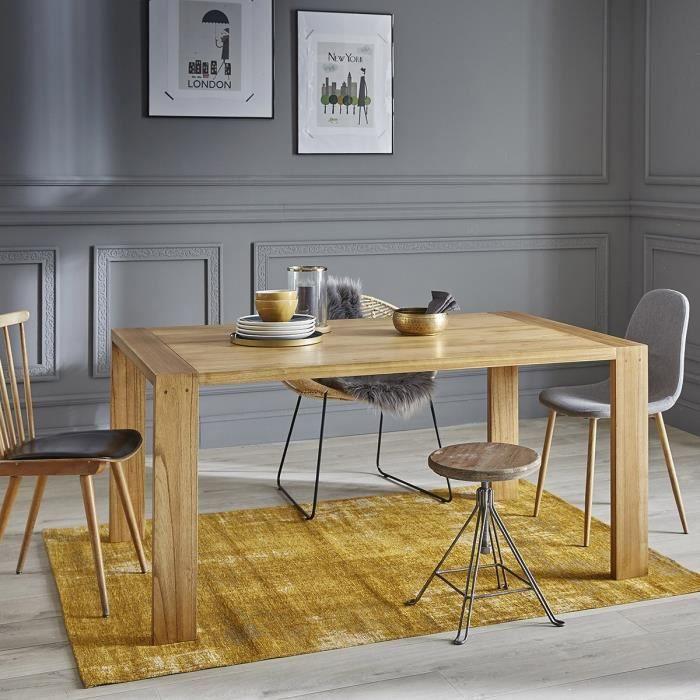 Table en bois de mindy 6 à 8 couverts BDBD