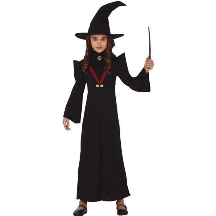 Déguisement professeur de magie fille - 10 à 12 ans (142-148 cm)