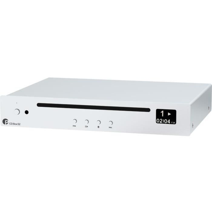 Pro-Ject CD Box S2 Silver - Lecteur CD Hi-Fi