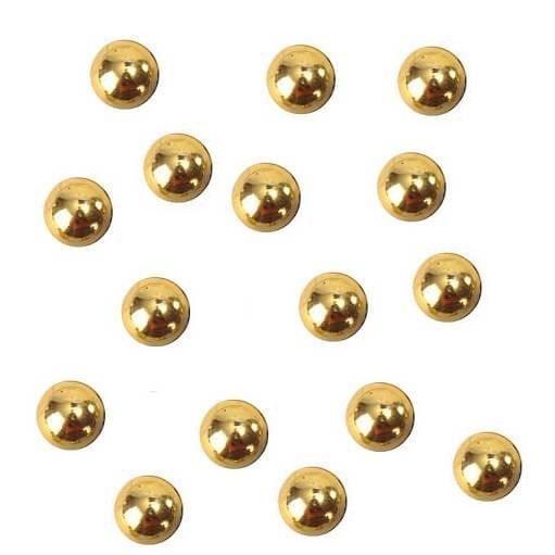Décoration de table goutte d'eau dorée métallisée (x300) R/3555