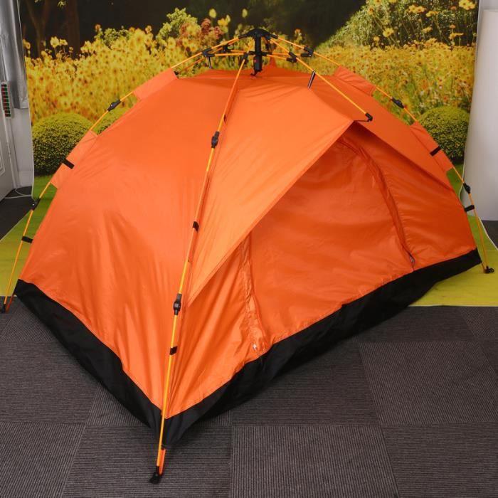 1 pc pliable Oxford toile tente entièrement automatique extérieure fournitures pour Voyage Camping (vert armée) TENTE DE CAMPING