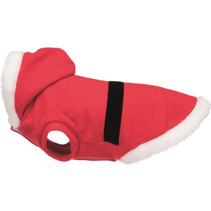 TRIXIE Manteau Xmas Santa - M: 45 cm - Rouge - Pour chien