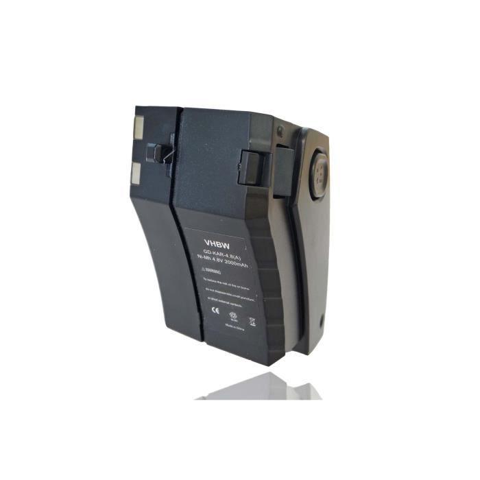 Batterie de remplacement pour aspirateur, robot nettoyeur Kärcher 1.258-505.0, 12585050, 1258-5050, KC55 - Remplace: 28100010, 6....