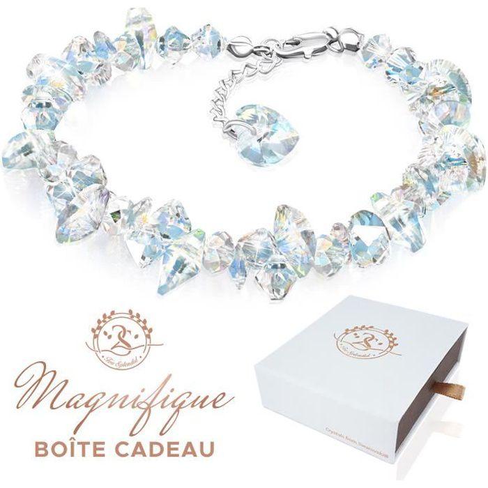 2SPLENDID® Magnifique Bracelet Femme avec Cristaux