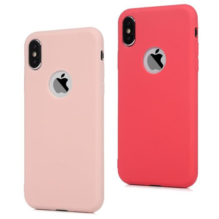 coque silicone iphone x couleur