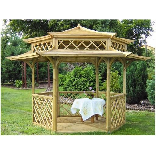 kiosque gazebo en bois toit pagode x achat. Black Bedroom Furniture Sets. Home Design Ideas