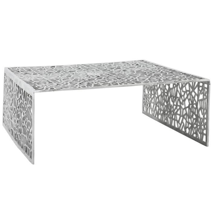 table basse argent eva achat vente table basse table