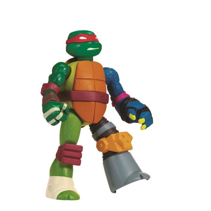 Tortues ninja mutation figurine 12 cm mix n 39 match - Tortue ninja raphaelo ...