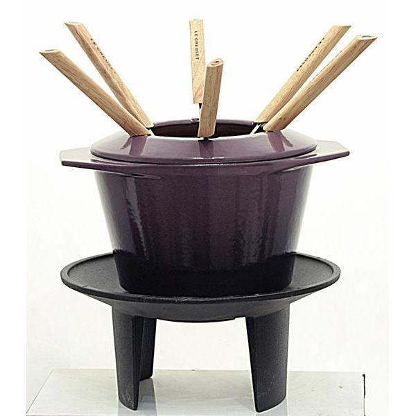 fondue le creuset. Black Bedroom Furniture Sets. Home Design Ideas