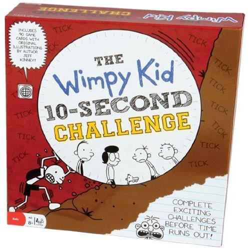 PARTITION Diary of a Wimpy Kid 10 Second Challenge