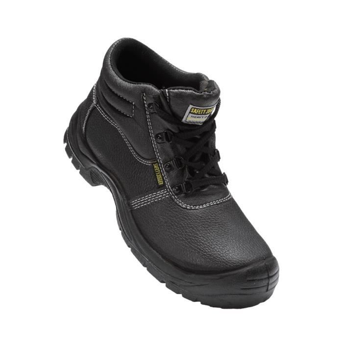 chaussures de s curit safetyboy noir achat vente chaussures de securit cdiscount. Black Bedroom Furniture Sets. Home Design Ideas