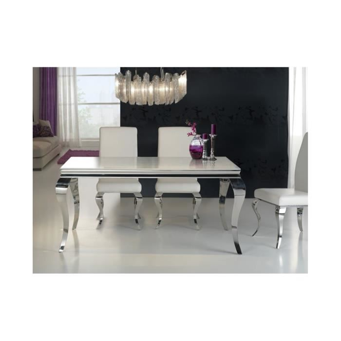 Table S A Manger Baroque 160 Achat Vente Table A Manger Seule Table S A Manger Baroque 160 Cdiscount
