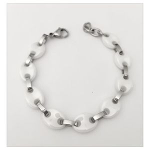 Bracelet grain de cafe ceramique