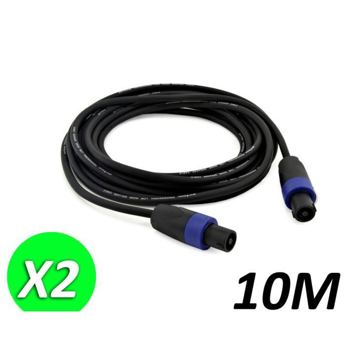 PPSS30 30/' Ft Professional Speaker Cable Male Connecter to Male  Connector