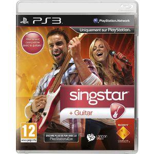 JEU PS3 SINGSTAR GUITAR / Jeu console PS3.