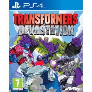 JEU PS4 Transformers : Devastation Jeu PS4
