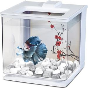 AQUARIUM MARINA Aquarium Ez Care pour betta - 2,5 L - Blanc