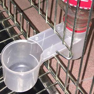 MANGEOIRE - TRÉMIE Abreuvoir à eau en plastique pratique mangeoire à
