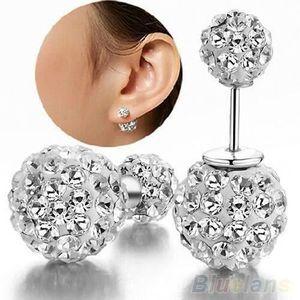 1 Paire Fashion Vert Cristal Strass Ear Drop Dangle Stud Long Boucles D/'oreilles 260