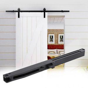 Sogood porte coulissante int/érieure en verre 102,5cm x 205cm porte glissante pour chambre cuisine buro poign/ée de porte forme barre Amalfi TS13-1025SC